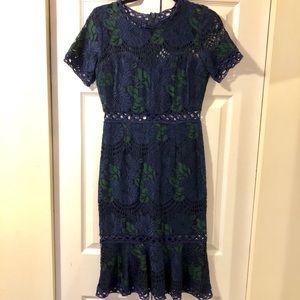 Soiéblu Lace Midi Dress